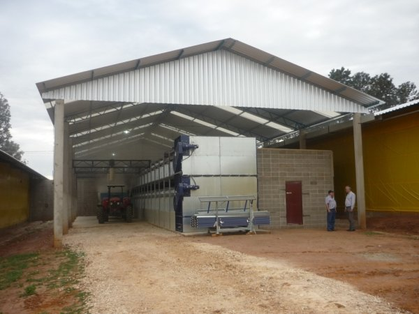 poultry manure drying system in Brasil