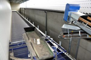 Poultry manure dryer 36 meters long