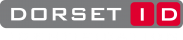DORSET IDENTIFICATION - witte letters