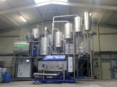 liquid manure Evaporator