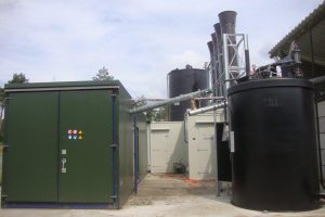 liquid residue drying system