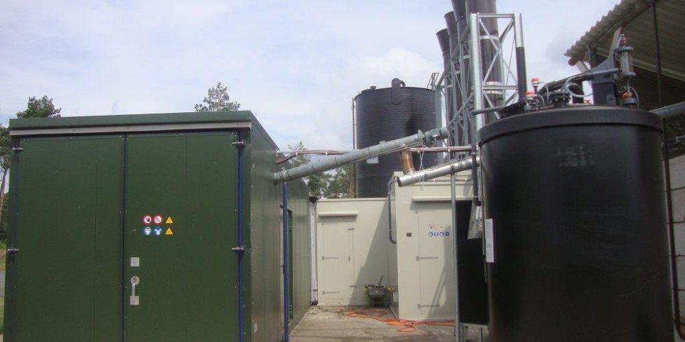 sistema de secado de residuos líquidos
