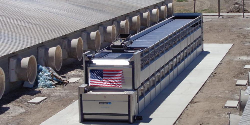poultry manure dryer in the USA